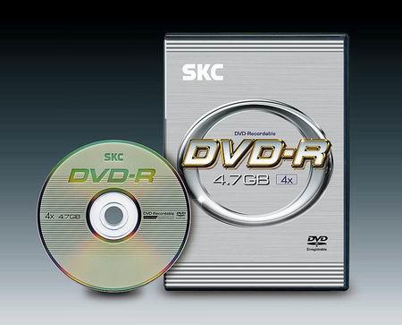 DVD-R диск SKC