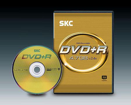 DVD+R диск SKC