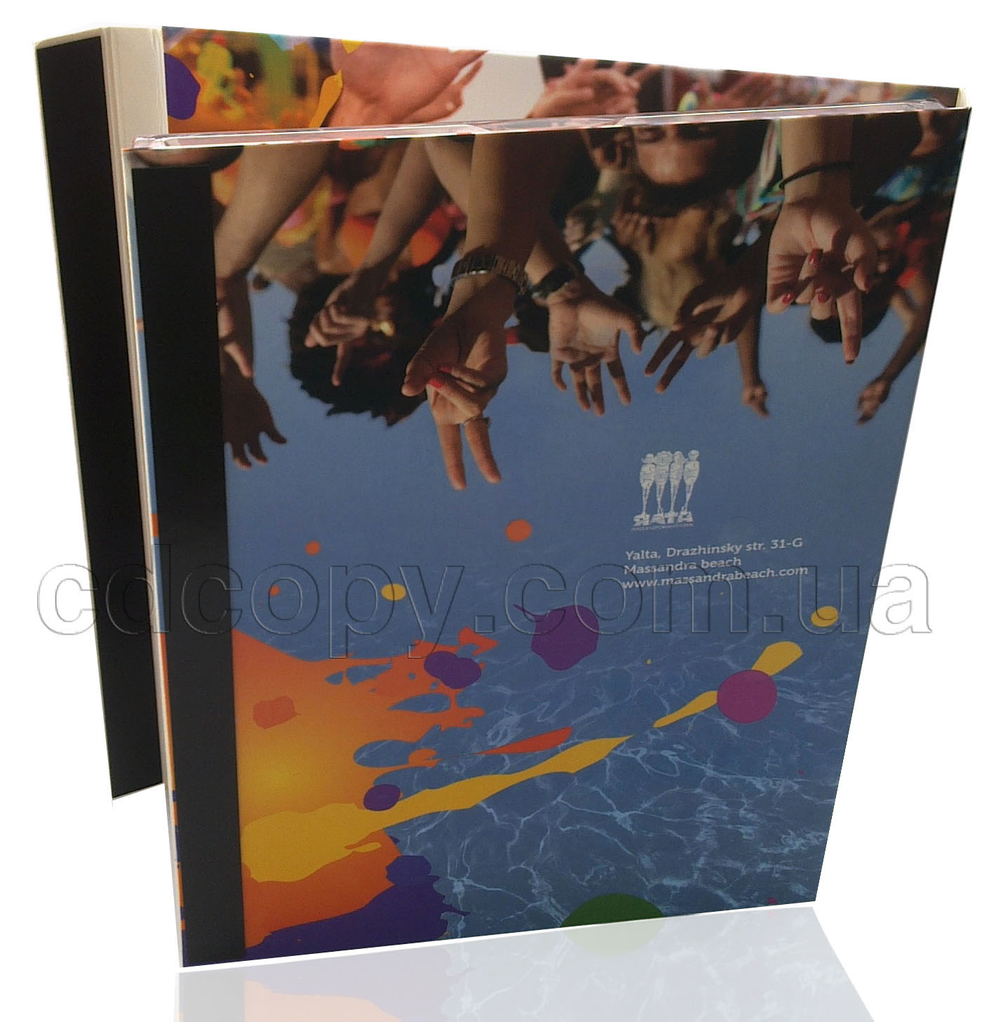 Диджипак для DVD с магнитным замком
