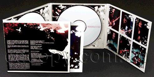 Упаковка Диджипак (DigiPack) на 2 CD  с рукавом для буклета
