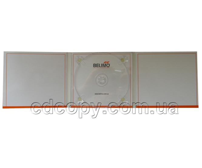 Упаковка Диджипак (Digipack) на 1 CD