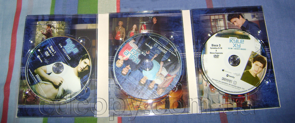 Упаковка Диджипак (DigiPack)на 3 DVD