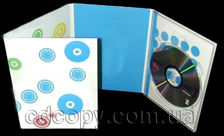 Упаковка Диджипак (DigiPack) на 1 DVD