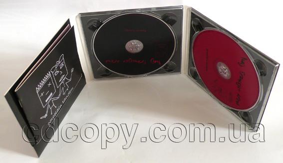 Упаковка Диджипак (DigiPack) на 2 CD с прорезью для буклета