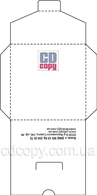 Конверт для дисков шаблон скачать